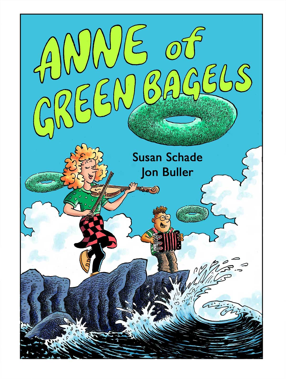 cover of ANNE OF GREEN BAGELS